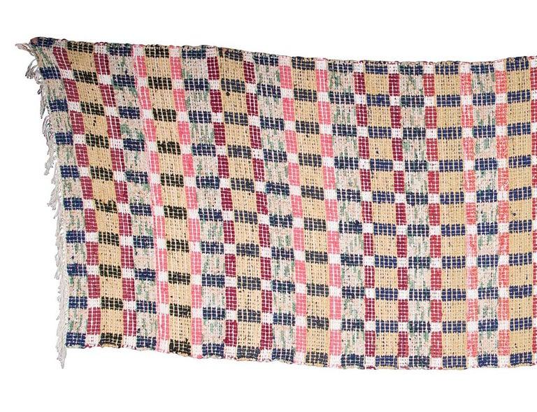 Hand-Woven Swedish Handmade Rug For Sale