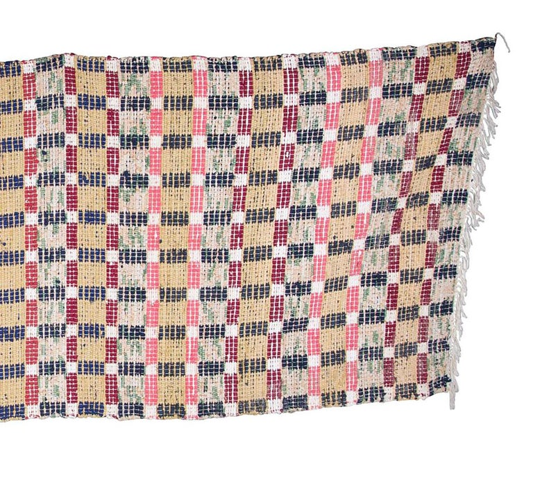 Swedish Handmade Rug In Good Condition For Sale In Tetbury, Gloucestershire