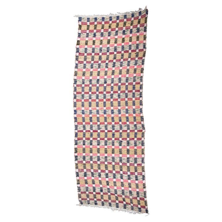 Swedish Handmade Rug For Sale