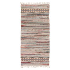 Swedish Handwoven Flat-Weave Rug