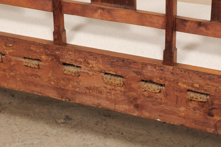 Swedish Karl Johan Style Sofa Bench from the Mid-19th Century For Sale 5