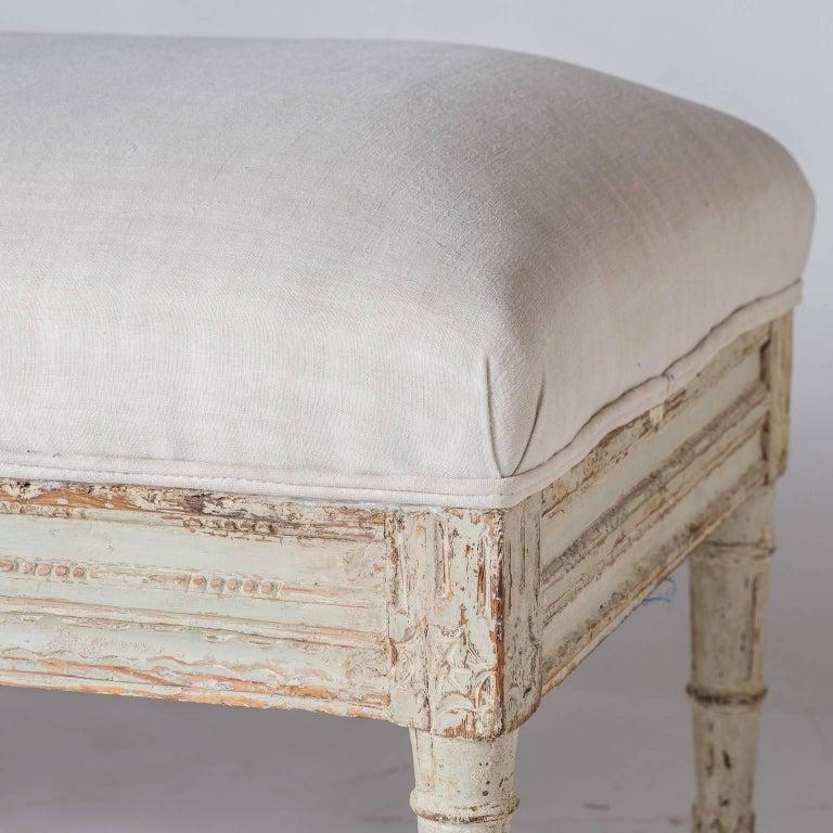 Swedish Late Gustavian Bench, circa 1820 In Good Condition For Sale In New Preston, CT
