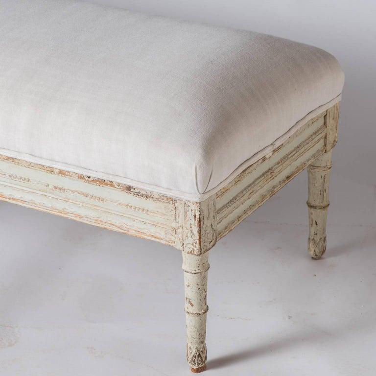 Swedish Late Gustavian Bench, circa 1820 For Sale 2