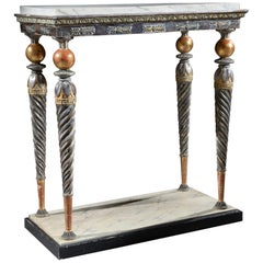 Swedish Late Gustavian Console Table, Early 19th Century Attributed to Jonas Fri
