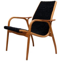Swedish Lounge Chair Laminett by Yngve Ekström for Swedese, 1950s