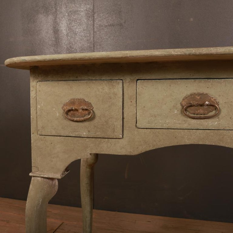 Swedish Low Boy / Side Table In Good Condition For Sale In Leamington Spa, Warwickshire