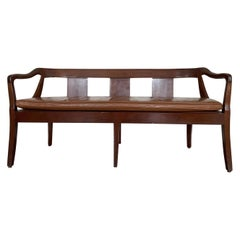 Swedish Mahogany Bench