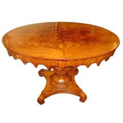 Swedish Mahogany Oval Table