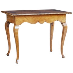 Swedish Mid-19th Century Alder Root Occasional Table