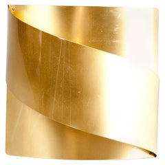 Swedish Midcentury Brass Wall Sconce by Peter Celsing for Falkenbergs Belysning