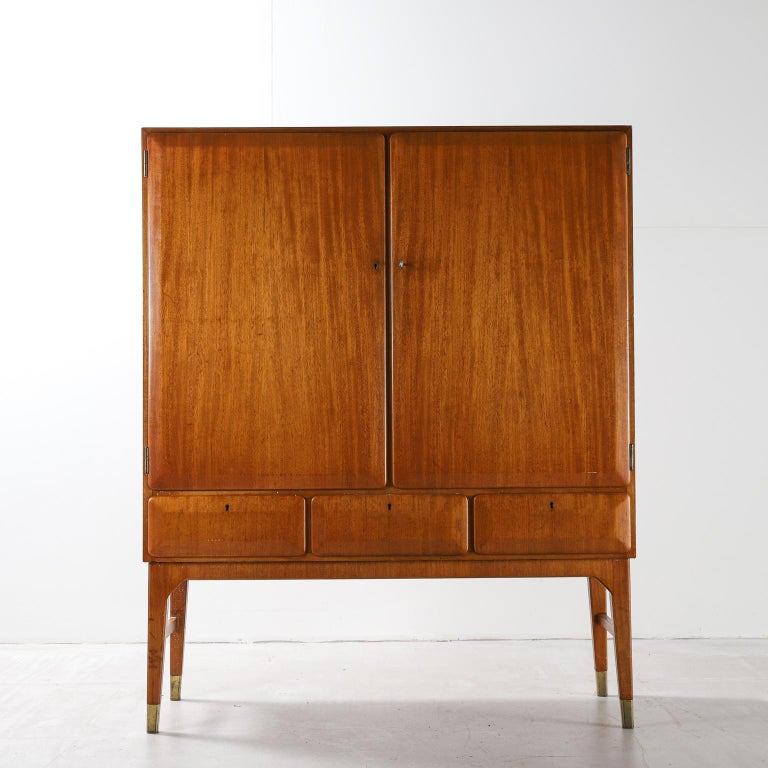 Swedish midcentury cabinet by Bertil Fridhagen for Bodafors, 1950s