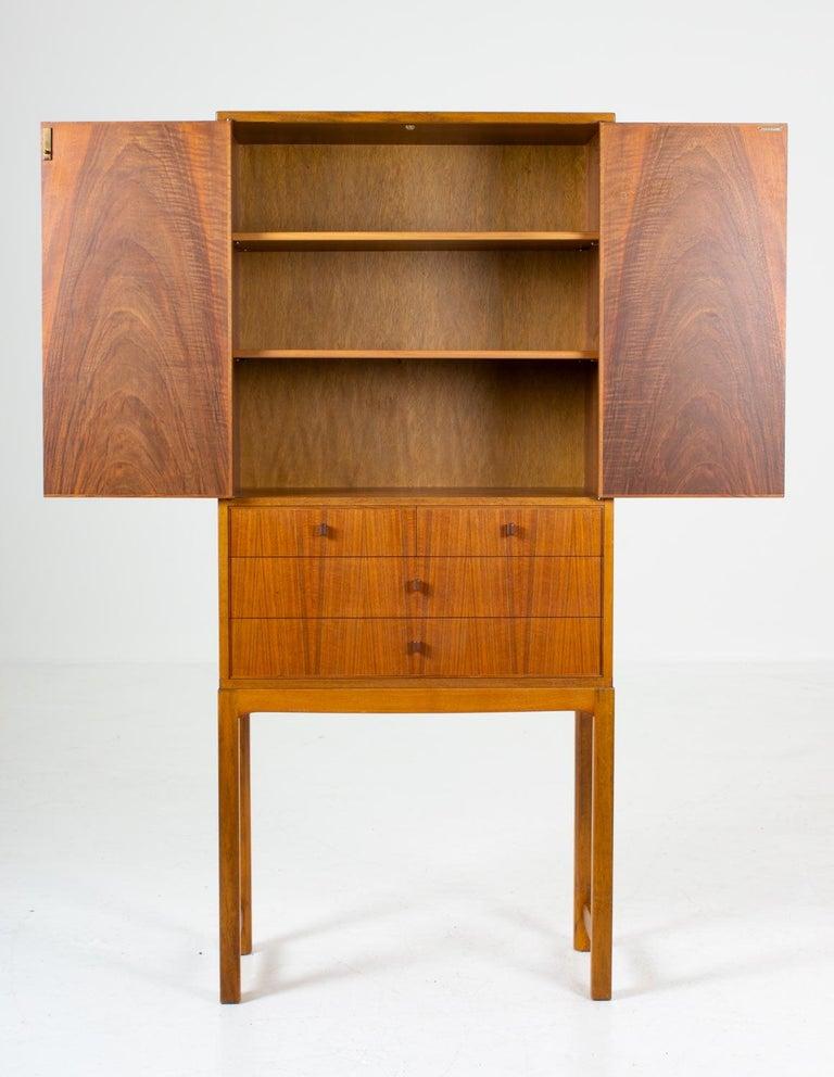 Scandinavian Modern Swedish Mid-Century Modern Cabinet Model