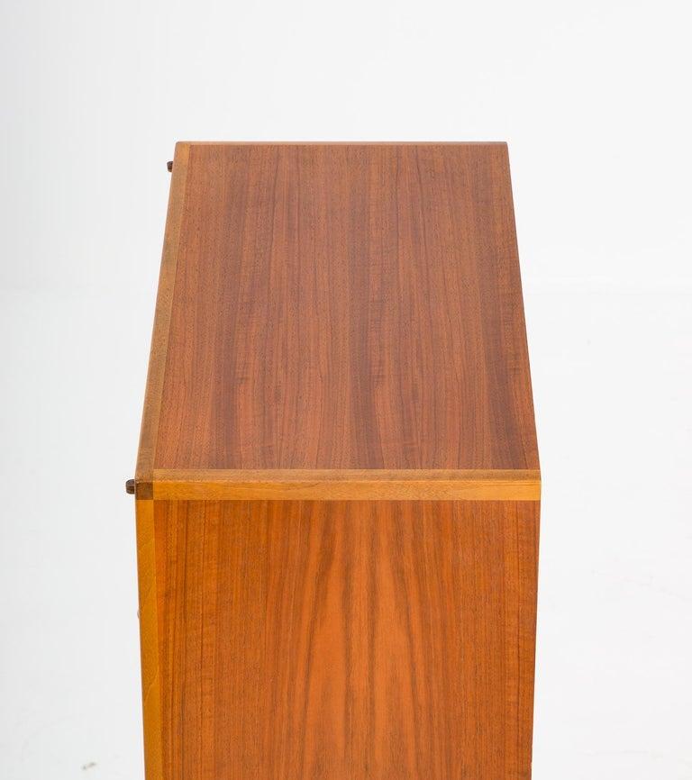 Walnut Swedish Mid-Century Modern Cabinet Model