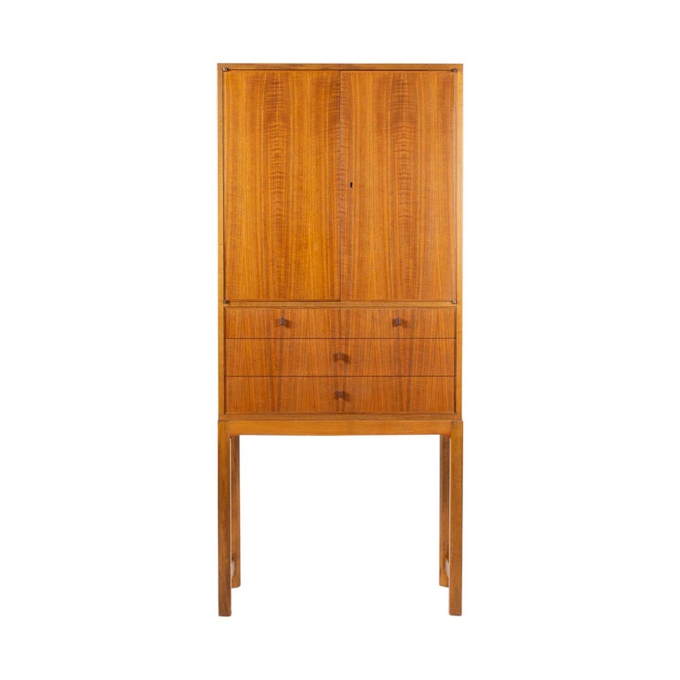 "Swedish Mid-Century Modern Cabinet Model ""Lillbo"" by Carl Malmsten"