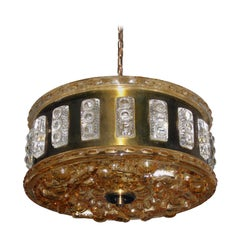 Swedish Mid-Century Modern Ceiling Light Faglaviks