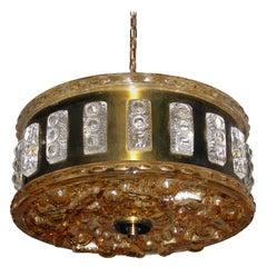 Swedish Mid-Century Modern Ceiling Light Faglaviks