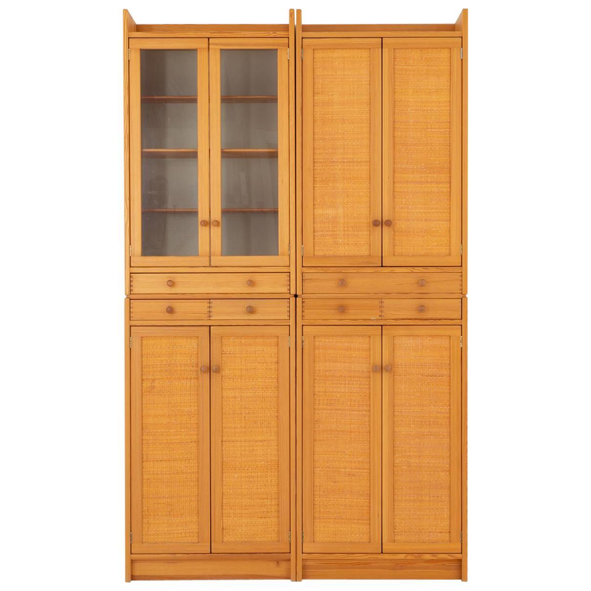 """Swedish Mid-Century Modern Pine Cabinet Model """"Furubo"""" by Yngve Ekström"""