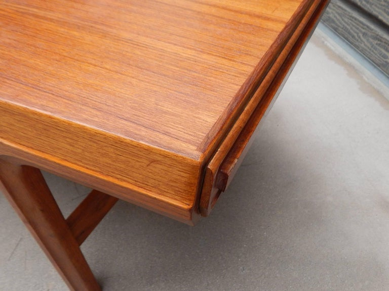 Swedish Mid-Century Modern Teak Coffee Table with Hidden ...