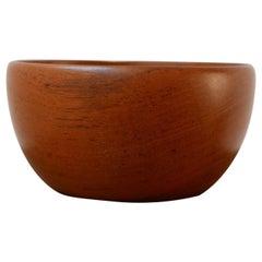 Swedish Mid-Century Teak Bowl
