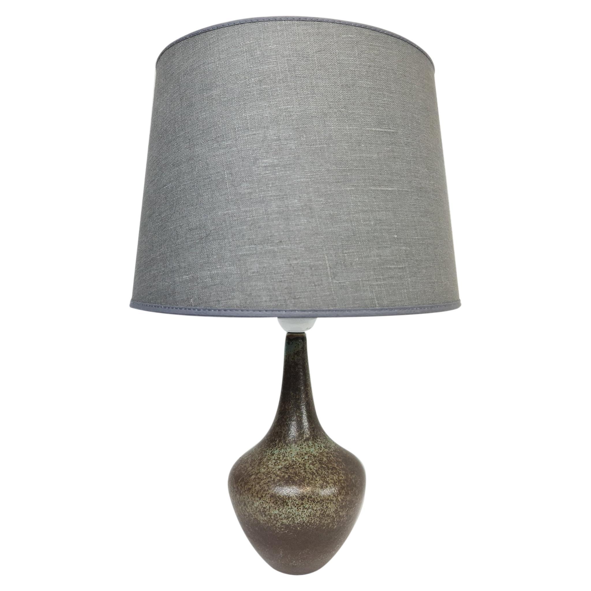 Swedish Midcentury Ceramic Table Lamp by Gunnar Nylund Rörstrand