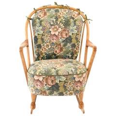 Swedish Midcentury Lennart Rocking Chair