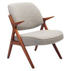 Swedish Modern Armchair in Alpaca Wool Upholstery by Bröderna Anderssons