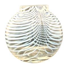 Swedish Modern Art Glass Vase by Bertil Vallien for Kosta Boda, 1960s