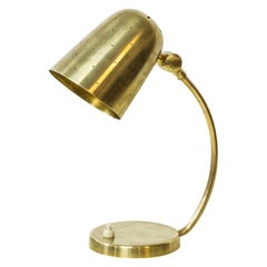 Swedish Modern Brass Table Lamp by Boréns, 1940s-1950s