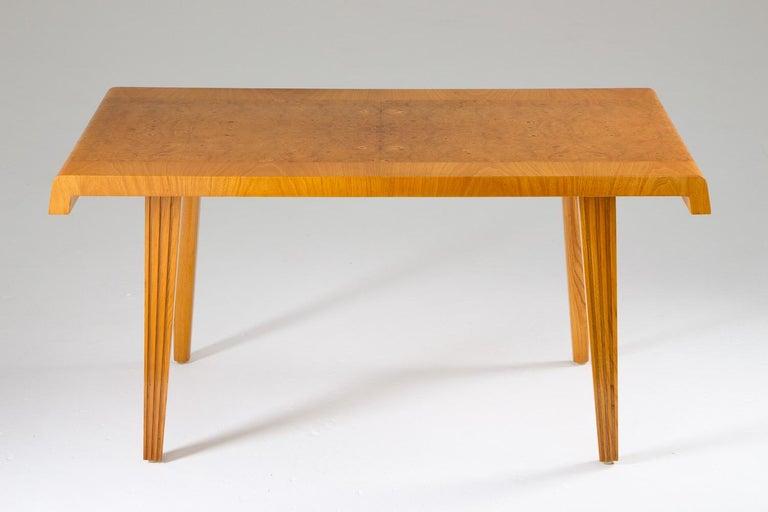 Mid-Century Modern Swedish Modern Coffee Table, 1940s For Sale