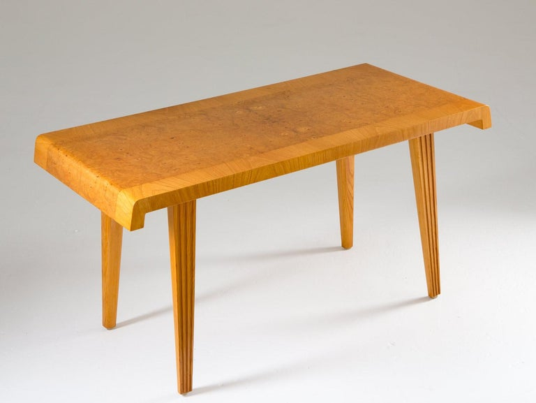 Swedish Modern Coffee Table, 1940s In Good Condition For Sale In Karlstad, SE