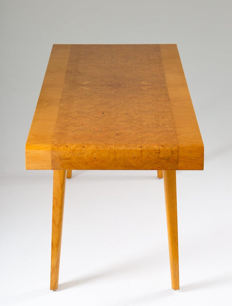 20th Century Swedish Modern Coffee Table, 1940s For Sale