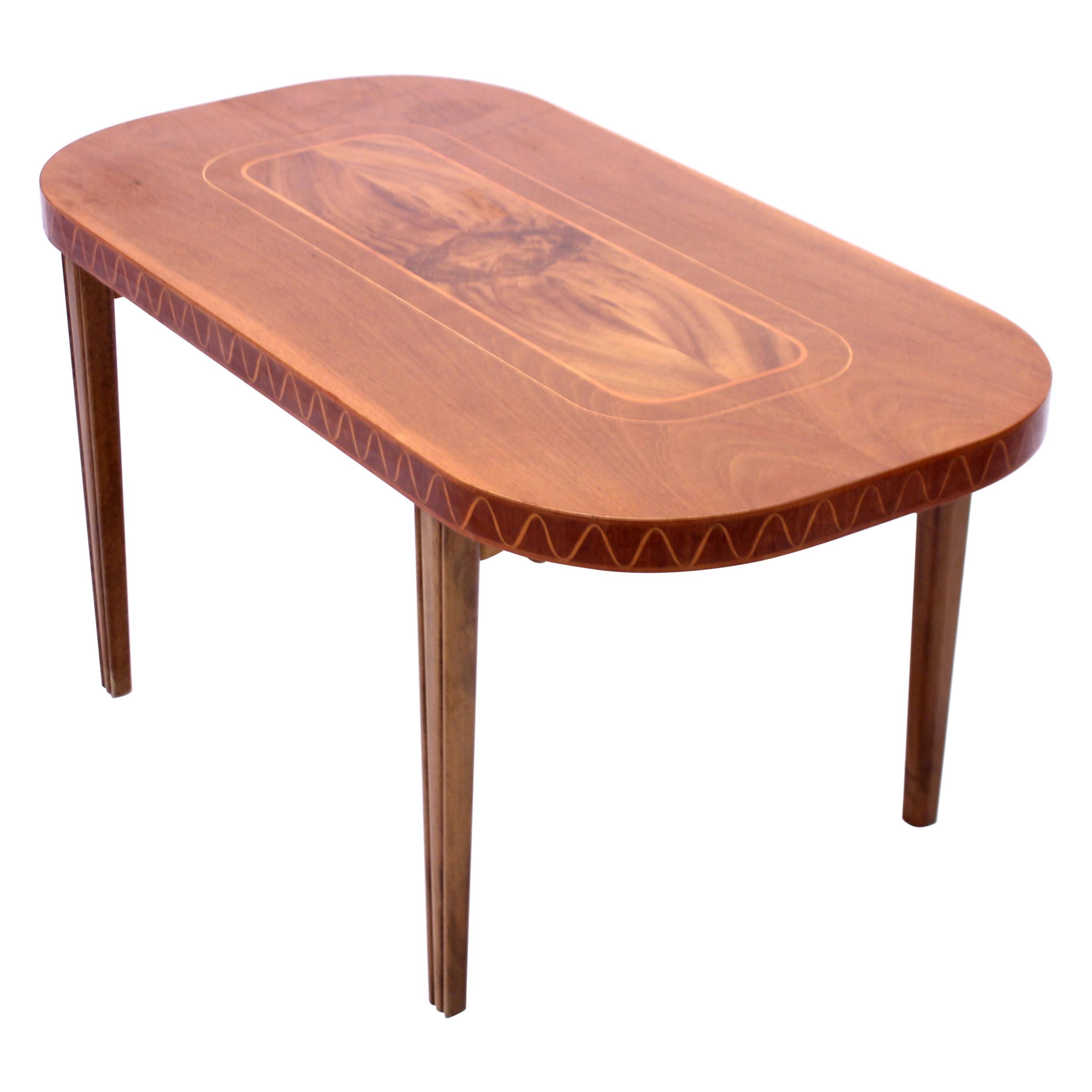 Swedish Modern Coffee Table, 1940s