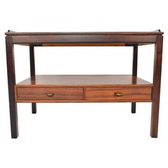 Swedish Modern Console Table in Rosewood