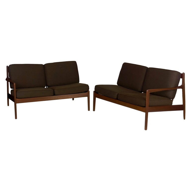 Dux Pair Of Sectional Loveseat