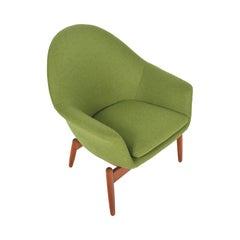 Swedish Modern Oak Lounge Chair by Scapa