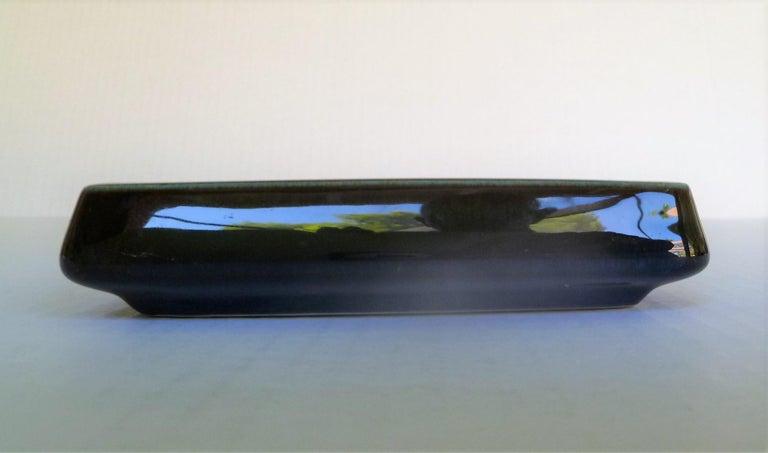 Swedish Modern Pair of Lagun 3 Stoneware Bowls for Gustavberg by Sven Jonson For Sale 1
