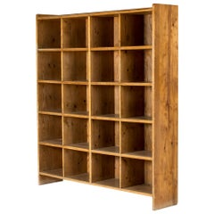 Swedish Modern Pine Bookcase