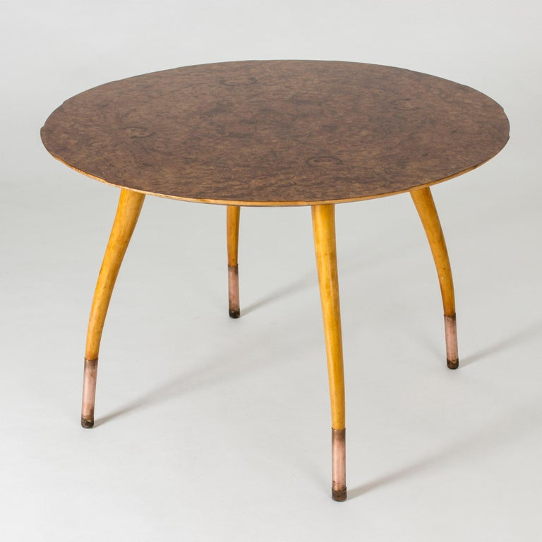 Scandinavian Modern Swedish Modern Root Occasional Table For Sale