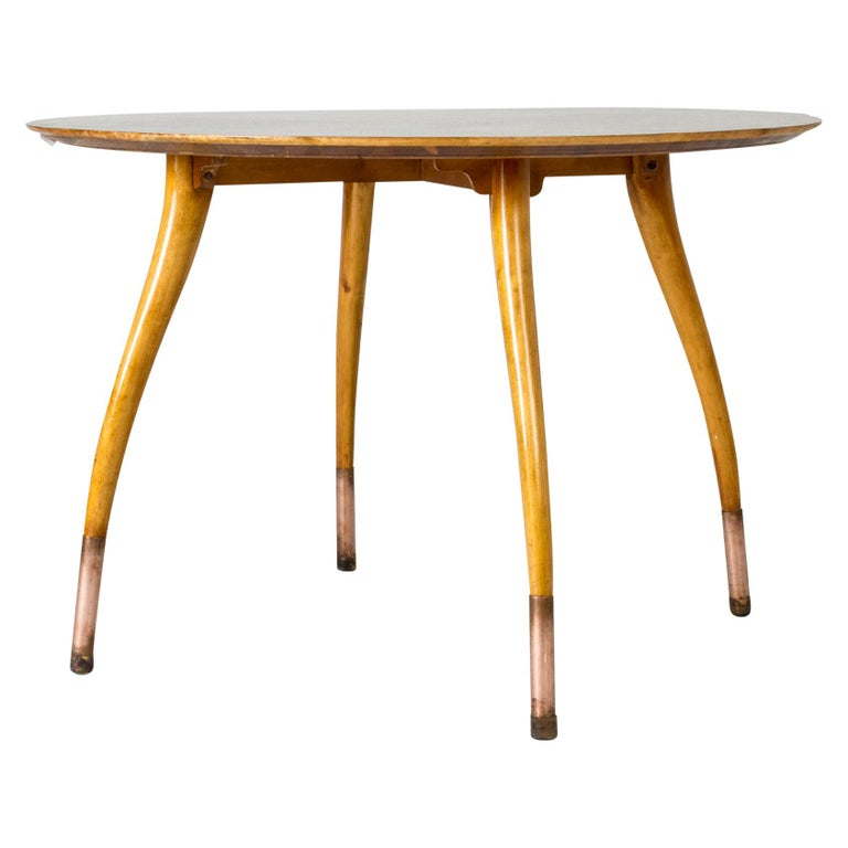 Swedish Modern Root Occasional Table For Sale