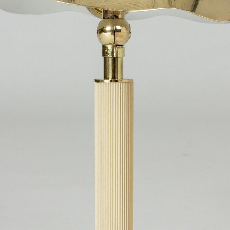 Brass Swedish Modern Table Lamp from Böhlmarks For Sale