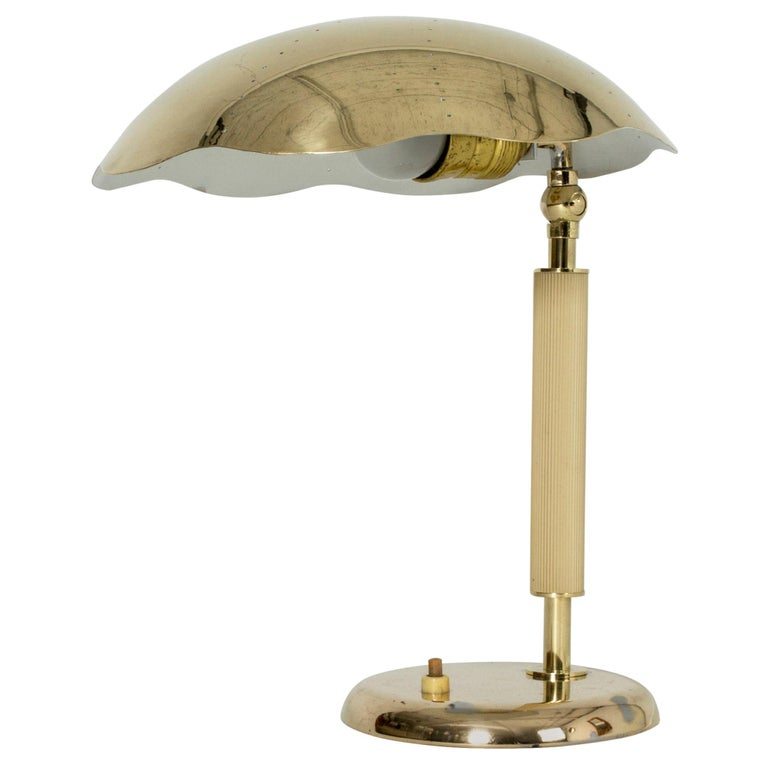 Swedish Modern Table Lamp from Böhlmarks For Sale