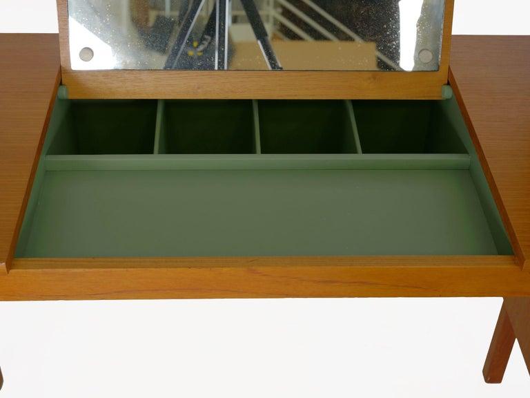 Swedish Modern Teak Bedroom Dresser Set and Desk by Bertil Fridhagen, circa 1964 For Sale 9