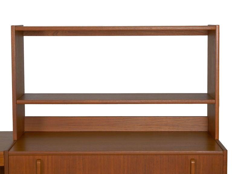 Upholstery Swedish Modern Teak Bedroom Dresser Set and Desk by Bertil Fridhagen, circa 1964 For Sale