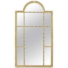 Swedish Neoclassic Giltwood Mirror