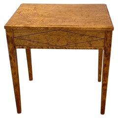 Swedish Neoclassic Occasional Table