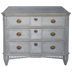 Swedish Neoclassical Three-Drawer Chest