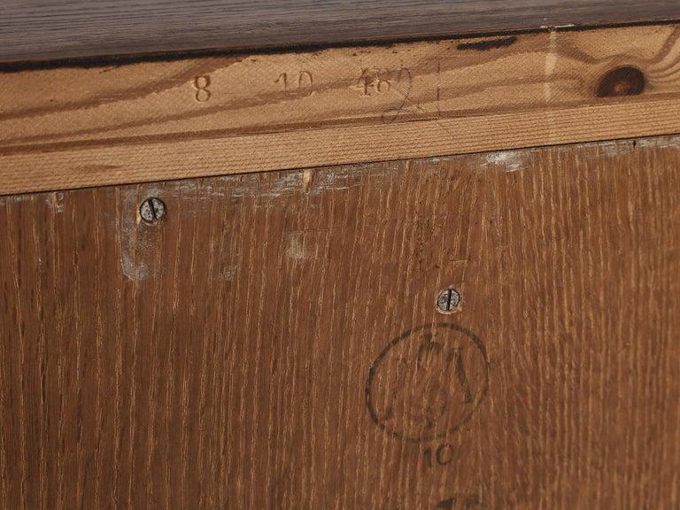 Swedish Oak Cabinet For Sale 5