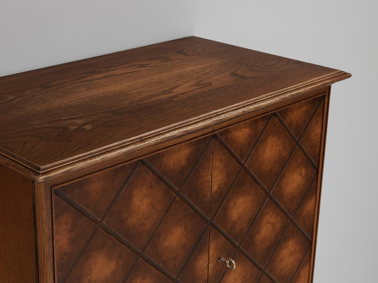 Swedish Oak Cabinet For Sale 1