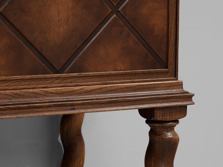 Swedish Oak Cabinet For Sale 2