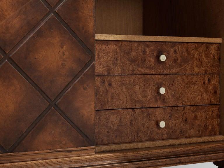 Swedish Oak Cabinet For Sale 3